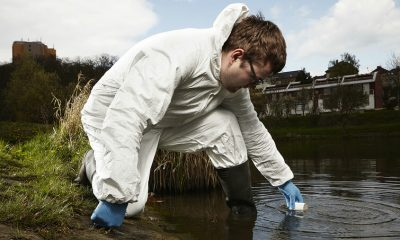 Toxic Tort Expert Witness Collecting Samples for Class Action